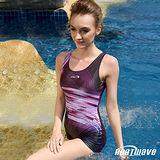 【Heatwave熱浪】紫色糜晴 萊克連身裙泳裝-81647