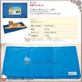 日本MARUKAN 狗.貓超涼舒適果凍凝膠軟式涼墊 涼床 加大LL號 90x50cm 黃金 拉拉可用
