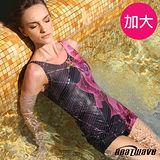 【Heatwave熱浪】花放艷麗 加大萊克連身裙泳裝-81649
