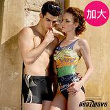 【Heatwave熱浪】勁炫姿舞 加大萊克連身裙泳裝-81650