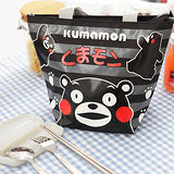 Kumamon酷MA萌 餃形便當袋+台灣製環保三件式餐具組