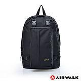 AIRWALK - 個性way可拆式母子後背包 - 黑