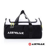 AIRWALK - 羽量級 圓筒手提輕量旅行小包 - 黑白