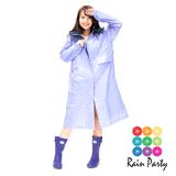 【RainParty】日本『娃娃裝』雨/風衣系列時尚點點(黑色)