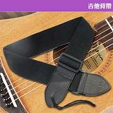 【美佳音樂】電吉他/木吉他/電貝士通用 吉他背帶-黑