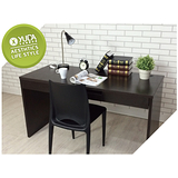 【YUDA】現代簡約 日式禪風 浮雕木紋 書桌/寫字桌/電腦桌 簡易DIY