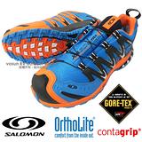 【索羅門 SALOMON】男新款 XA PRO 3D Ultra 2 Gore-Tex 專業防水透氣越野跑步運動鞋 亮藍 359360