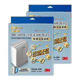 3M 淨呼吸空氣清淨機-極淨型10坪T20AB-ORF專用濾網 (除臭加強濾網) (2入組)