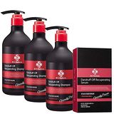 台塑生醫Dr's Formula 控油抗屑洗髮精+控油抗屑調理精華 580g*3入+70g*1入