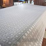 方塊透明壓紋桌墊(長90cmX寬90cm) RN-TD108-001