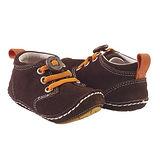 美國 Rileyroos 真皮手工鞋/學步鞋/童鞋/寶寶鞋/嬰兒鞋 奇卡 巧克力