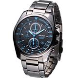 SEIKO 時尚品味計時腕錶 7T92-0NK0SD SXGP21P1