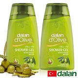 【土耳其dalan】頂級橄欖油pH5.5沐浴露 250ml X 2 優惠組