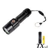 【特林TX】美國CREE R5 LED優質黑平價入手款手電筒(TX-8826-Z)