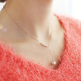 【PS Mall】韓國甜美配飾珍珠項鍊鎖骨鍊(G1772)