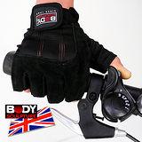 【BODY SCULPTURE】BW-85 絨面皮革運動手套