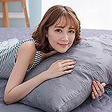 (任)J-bedtime【蝶舞飛揚】雙人絕美壓紋X防汙防塵床包式保潔墊(灰蝶)