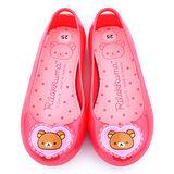 童鞋城堡-拉拉熊 中童 超輕量防水休閒鞋KM8219-桃