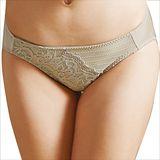 【思薇爾】撩波系列M-XL蕾絲低腰三角褲(貝沙金)