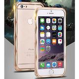 【美國imatch正品】iPhone 6 PLUS立體流線卡扣鋁合金金屬邊框-加送原廠手機吊飾