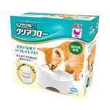GEX 日本 愛貓圓滿平安 濾淨飲水皿 貓用 淨白色 950ml X 1入