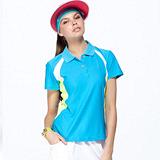 【SAIN SOU】台灣製涼感吸濕排汗POLO衫(女版)T16502-06
