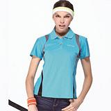 【SAIN SOU】台灣製涼感吸濕排汗POLO衫(女版)T16503-06