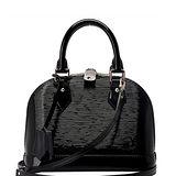 Louis Vuitton LV M40862 ALMA BB EPI 水波紋迷你手提斜背艾瑪包.黑 預購