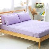 美夢元素 繽紛馬卡龍保潔床墊-雙人〈薰衣草紫〉