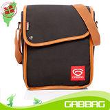 GABBAG 長崛側背包(iPad平板可入)(黑)(GB14107-01)