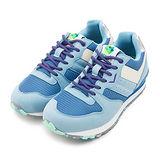 【女】PONY 繽紛韓風復古慢跑鞋 NCHASER Campus系列 灰藍紫 53W1CS61BC