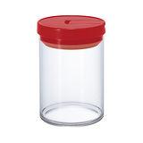 HARIO 咖啡保鮮罐M紅色 MCN-200R