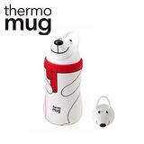 日本品牌 thermo mug 兒童/子供用動物水壺 - 白熊.
