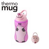 日本品牌 thermo mug 兒童/子供用動物水壺 - 豬.