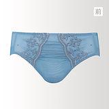 【蕾黛絲】許願心鑽輕真水 M-EL 平口褲(湛海藍)