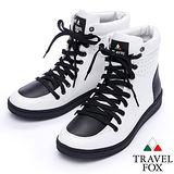 Travel Fox SEXY-零元素高筒鞋914621(白-07)