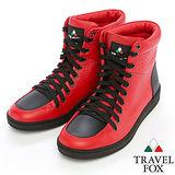 Travel Fox SEXY-零元素高筒鞋914621(紅-04)