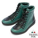Travel Fox SEXY-零元素高筒鞋914621(綠-20)