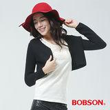 BOBSON 毛衣外套(黑色65121-88)