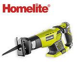 Homelite 18V充電式鋰電軍刀鋸.
