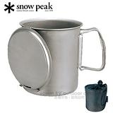 【日本 Snow Peak】Trek 700 Titanium 鈦金屬輕便型個人鍋700ml.鈦合金個人杯.個人炊具組 /SCS-005T