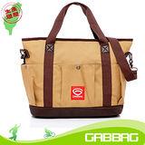 GABBAG 倉敷托特包(NB可入)(卡其)(GB14111-18W)