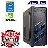 華碩H81平台【星光騎士】Intel i7-4790四核 1TB大容量 效能電腦