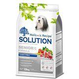 SOLUTION 耐吉斯 高齡犬 關節保健配方 羊肉+田園蔬菜 7.5公斤 X 1包