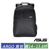 ASUS 華碩原廠 亞果ARGO 16吋 簡約風後背包 -加送雙桿LED夾書燈