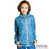 【TOP GIRL】星星魅力抗UV薄外套-女(天空藍)