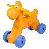 寶貝樂 可愛小馬學步車/助步車-橘色