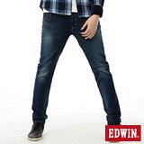 EDWIN 迦績褲JERSEYS紅布邊牛仔褲-男-中古藍