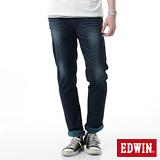 EDWIN JERSEYS雙色AB迦績褲-男-寶石藍