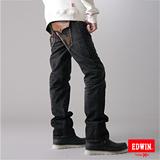 EDWIN XV袋蓋中直筒牛仔褲-男-灰色